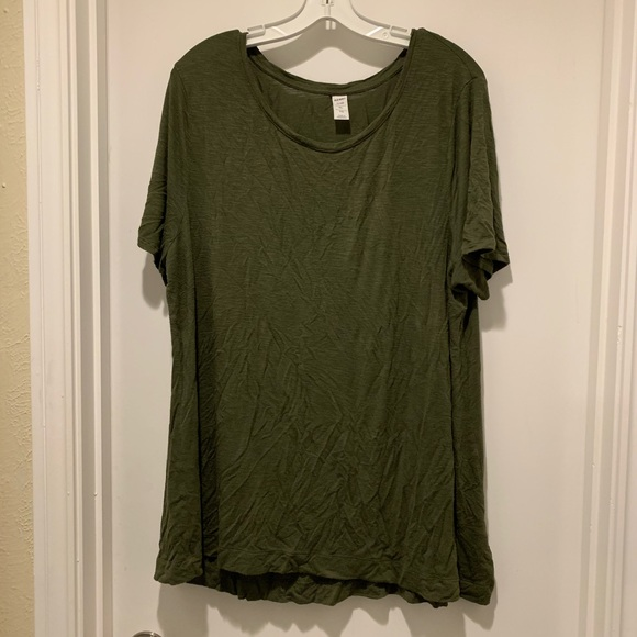 Old Navy Tops - Old Navy Luxe Tee in Army Green